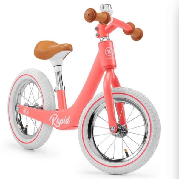 Bicicleta fara pedale Rapid Kinderkraft MAGIC CORAL 3