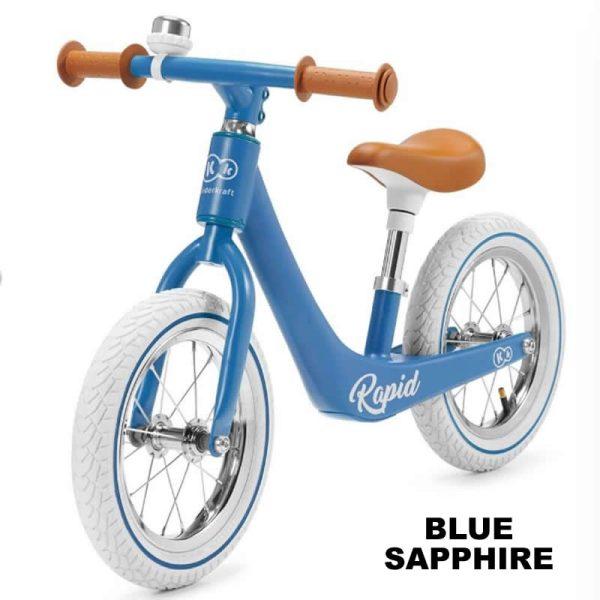 Bicicleta fara pedale Rapid Kinderkraft blue sapphire