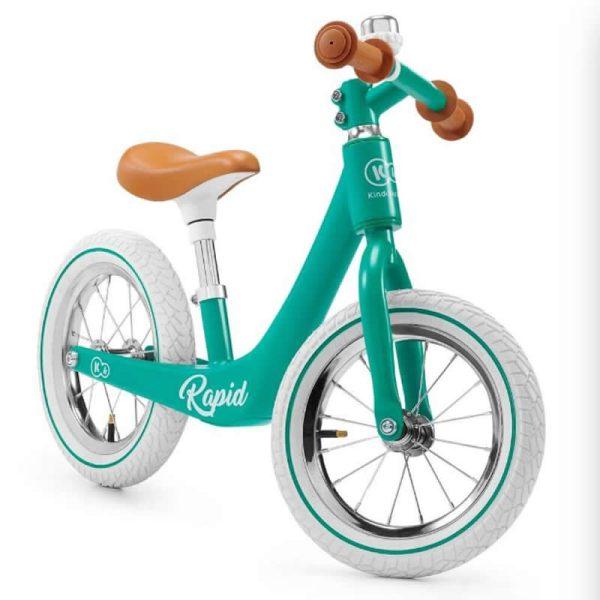 Bicicleta fara pedale Rapid Kinderkraft midnight green 3