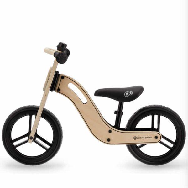 Bicicleta fara pedale Uniq Kinderkraft NATURAL 1
