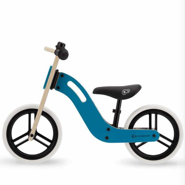 Bicicleta fara pedale Uniq Kinderkraft TURQUOISE 2