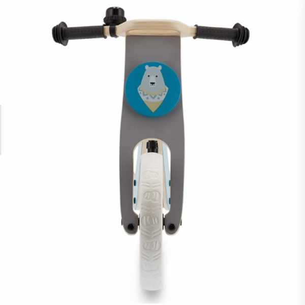Bicicleta fara pedale Uniq Kinderkraft TURQUOISE 7