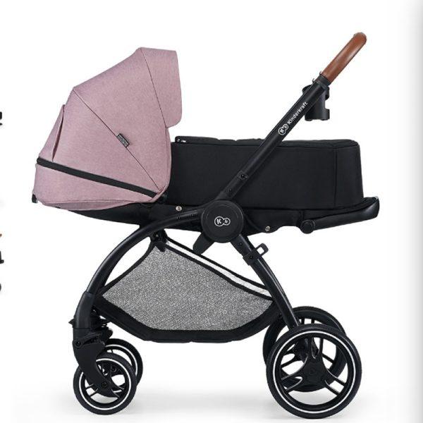 Carucior Evolution Cocoon Kinderkraft 2 in 1 mauvelous pink 2