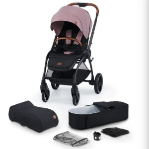 Carucior Evolution Cocoon Kinderkraft 2 in 1 mauvelous pink