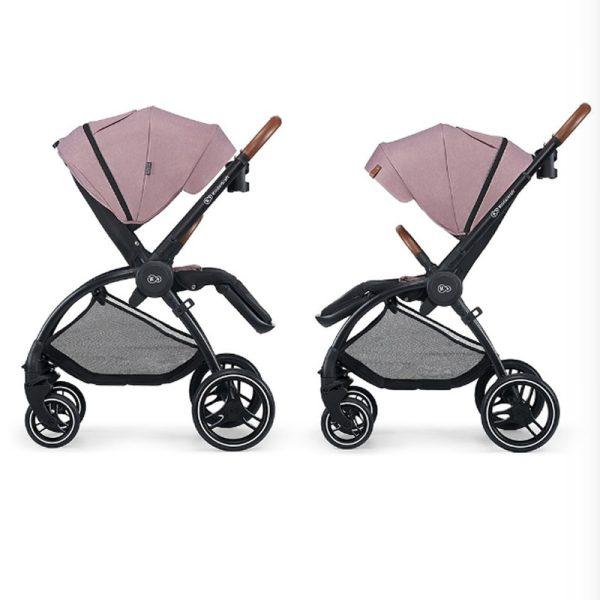 Carucior Evolution Cocoon Kinderkraft 2 in 1 mauvelous pink 4
