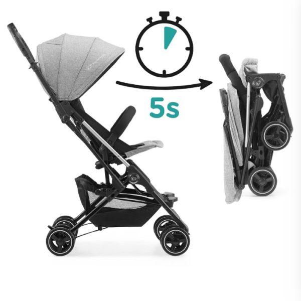 Carucior Mini Dot Kinderkraft grey 5