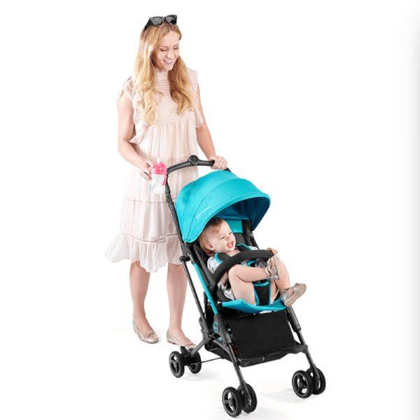 Carucior Mini Dot Kinderkraft turquoise 6