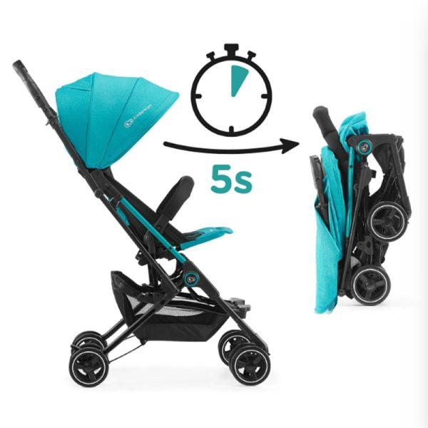 Carucior Mini Dot Kinderkraft turquoise 7