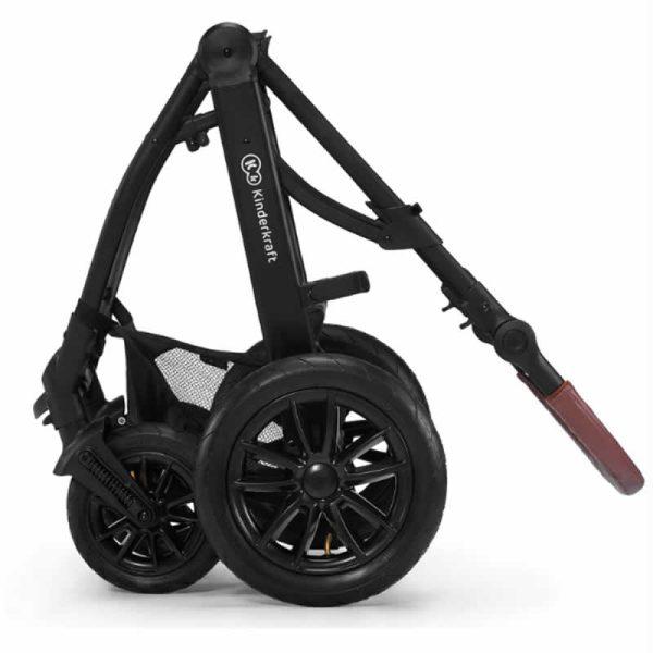 Carucior XMoov Kinderkraft 3 in 1 black 15