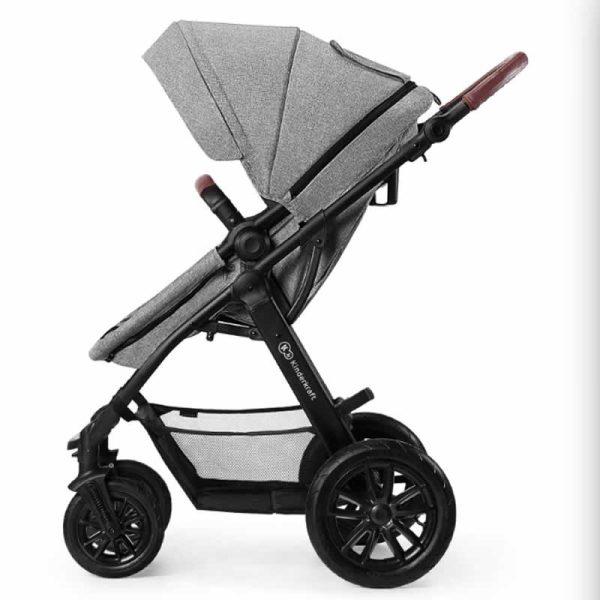 Carucior XMoov Kinderkraft 3 in 1 grey 10