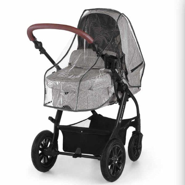 Carucior XMoov Kinderkraft 3 in 1 grey 14