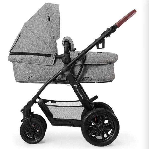 Carucior XMoov Kinderkraft 3 in 1 grey 2