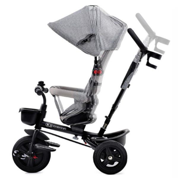 Tricicleta Aveo Kinderkraft grey 4
