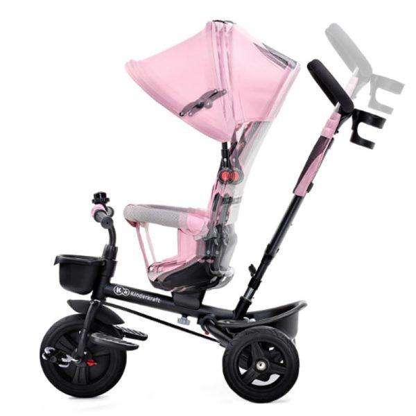 Tricicleta Aveo Kinderkraft pink 3