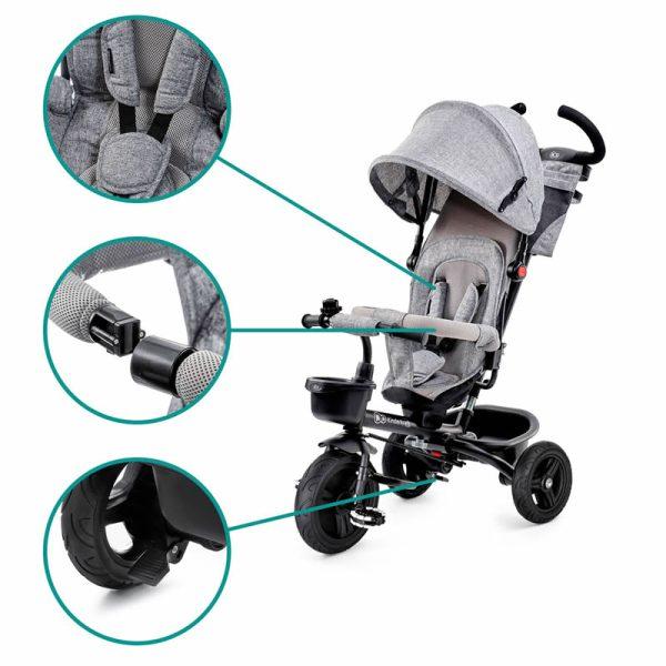 Tricicleta Aveo Kinderkraft z 16