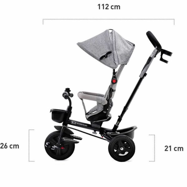 Tricicleta Aveo Kinderkraft z 19
