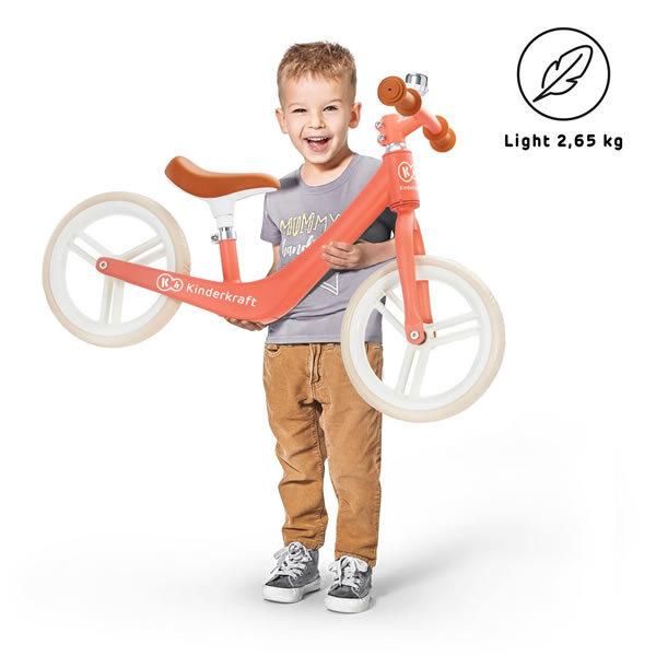 bicicleta fara pedale fly plus kinderkraft z 9