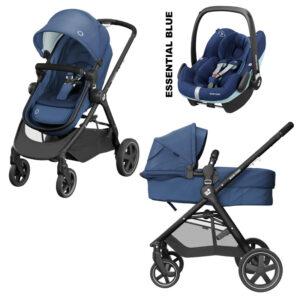 Carucior Zelia2 Maxi Cosi essential blue 3 in 1