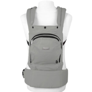 Marsupiu anatomic Cangoo Active Air BabyGo light grey 1