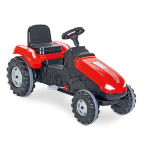 Tractor cu pedale Pilsan MEGA rosu