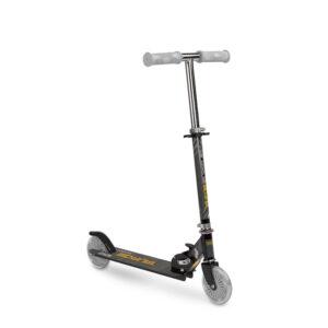 Scooter cu casca si cotiere si genunchiere Toyz TAURO black