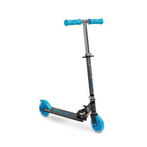 Scooter cu casca si cotiere si genunchiere Toyz TAURO blue