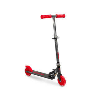 Scooter cu casca si cotiere si genunchiere Toyz TAURO red