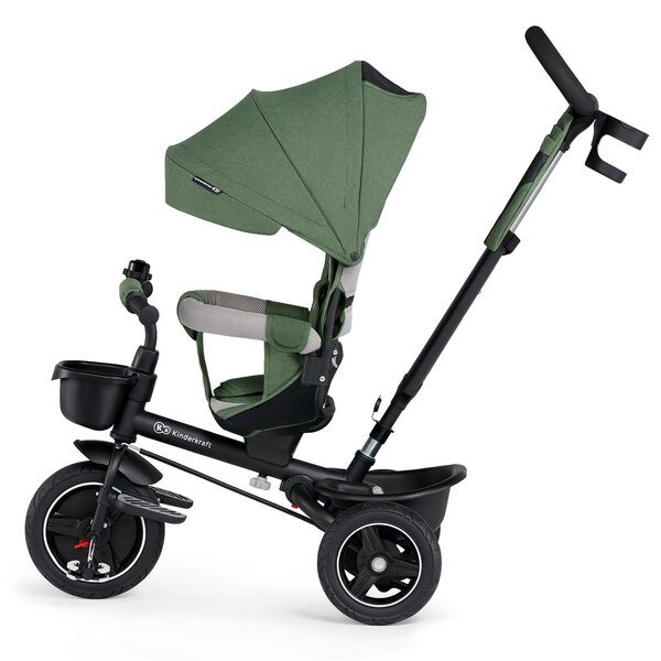 Tricicleta 5 in 1 Kinderkraft SPINSTEP green 3