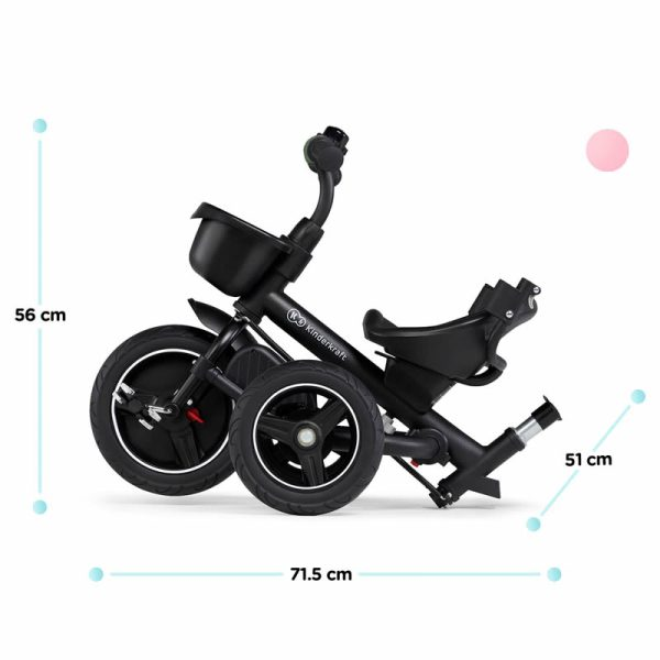 Tricicleta 5 in 1 Kinderkraft SPINSTEP z 15