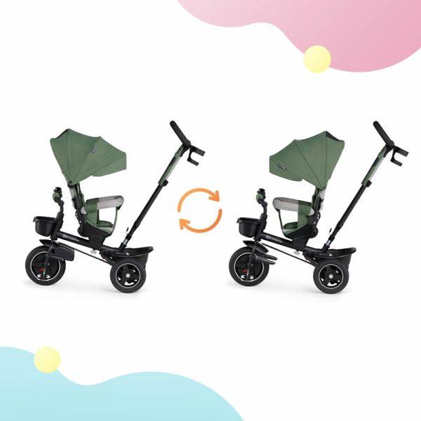 Tricicleta 5 in 1 Kinderkraft SPINSTEP z 3