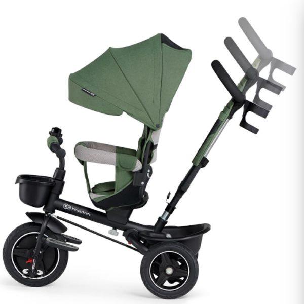 Tricicleta 5 in 1 Kinderkraft SPINSTEP z