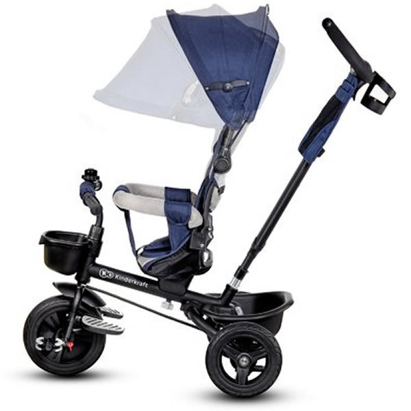Tricicleta Aveo Kinderkraft blue 2