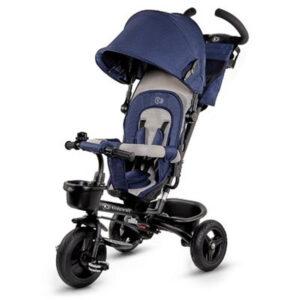 Tricicleta Aveo Kinderkraft Blue 3 in 1