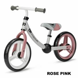 Bicicleta fara pedale Kinderkraft 2Way Next rose pink