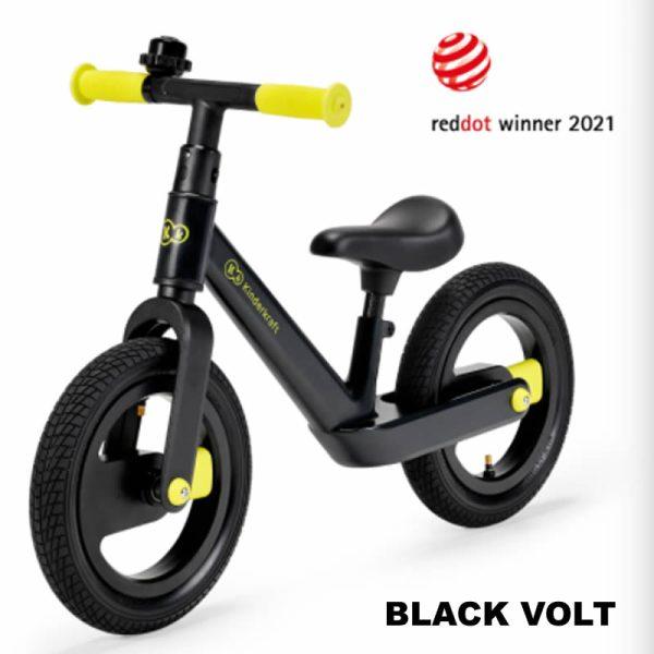 Bicicleta fara pedale Kinderkraft GOSWIFT black volt