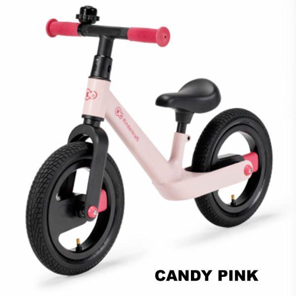 Bicicleta fara pedale Kinderkraft GOSWIFT candy pink