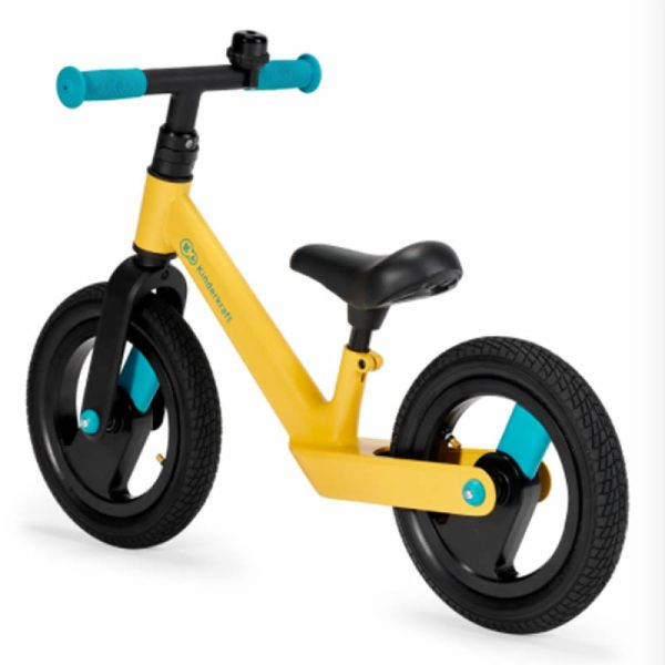 Bicicleta fara pedale Kinderkraft GOSWIFT primrose yellow 1