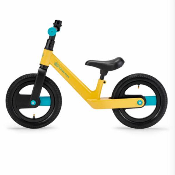 Bicicleta fara pedale Kinderkraft GOSWIFT primrose yellow 2