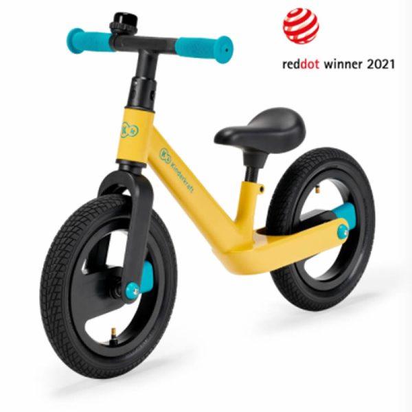 Bicicleta fara pedale Kinderkraft GOSWIFT primrose yellow 4