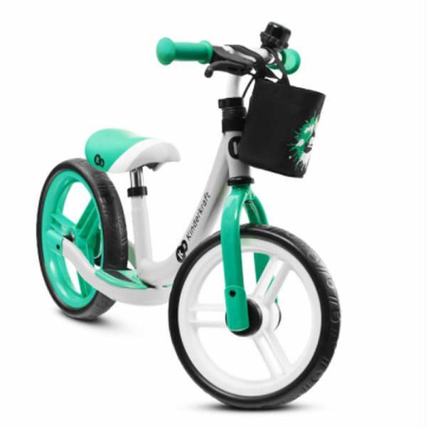 Bicicleta fara pedale Kinderkraft SPACE 2021 light green 1