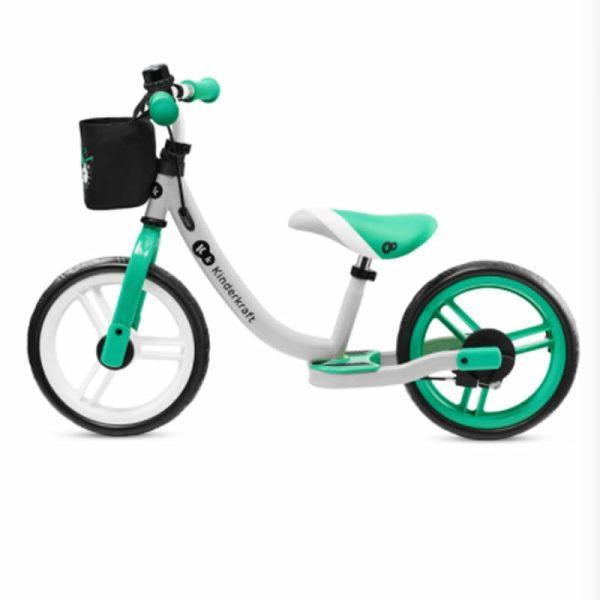 Bicicleta fara pedale Kinderkraft SPACE 2021 light green 2