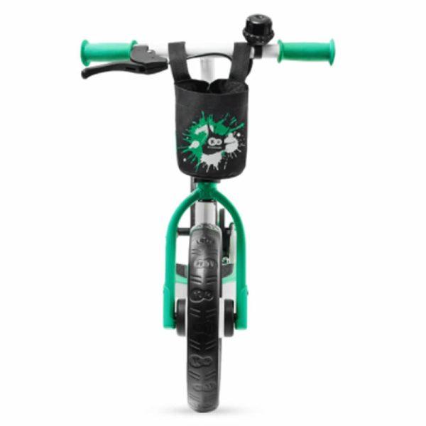 Bicicleta fara pedale Kinderkraft SPACE 2021 light green 4