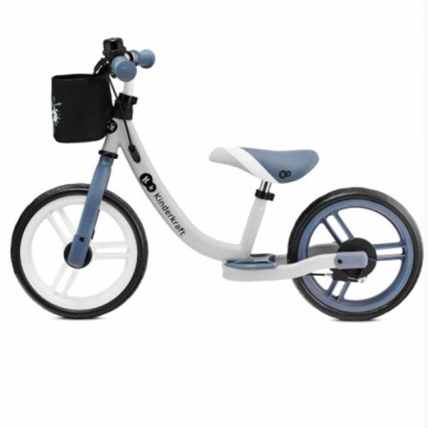 Bicicleta fara pedale Kinderkraft SPACE 2021 saphire blue 1