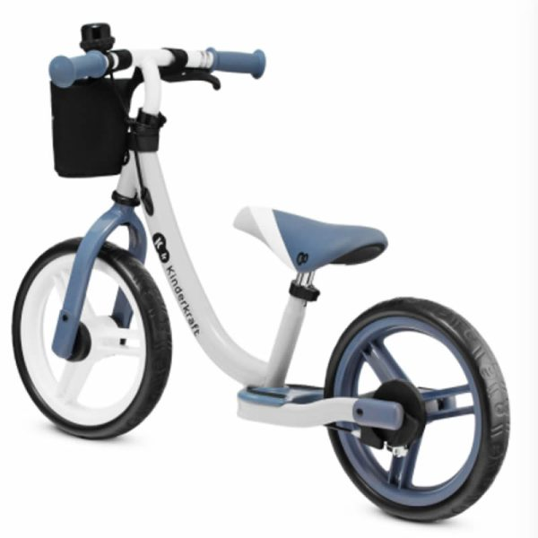 Bicicleta fara pedale Kinderkraft SPACE 2021 saphire blue 2