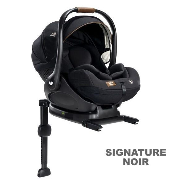 Scoica auto inclinabila I-Size Joie I-Level Signature Noir si baza isofix i-Base