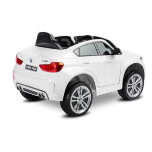 Masinuta electrica cu telecomanda Toyz BMW X6 white 1
