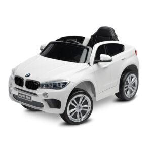 Masinuta electrica cu telecomanda Toyz BMW X6 white