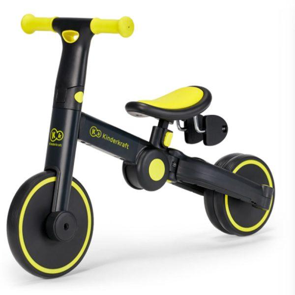 Tricicleta 4Trike Kinderkraft Black 1