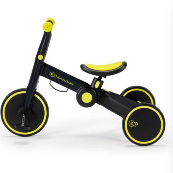Tricicleta 4Trike Kinderkraft Black 2
