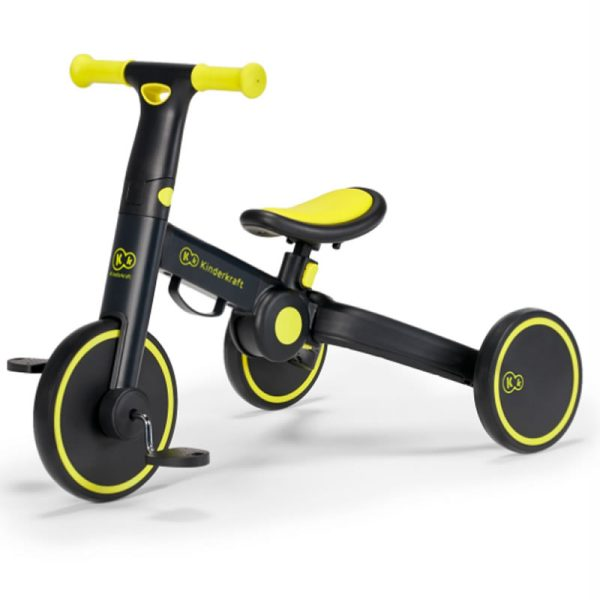Tricicleta 4Trike Kinderkraft Black 3
